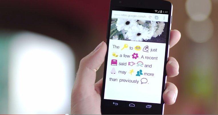 google chrome emoji translator