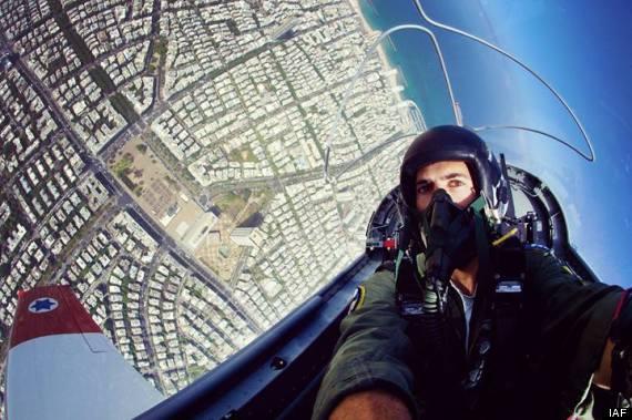 Bức ảnh này đến từ không quân Isarel