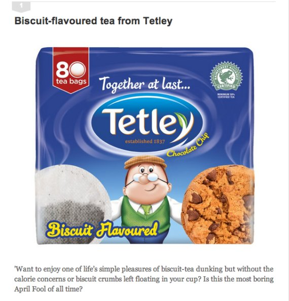 tetley tea april fool
