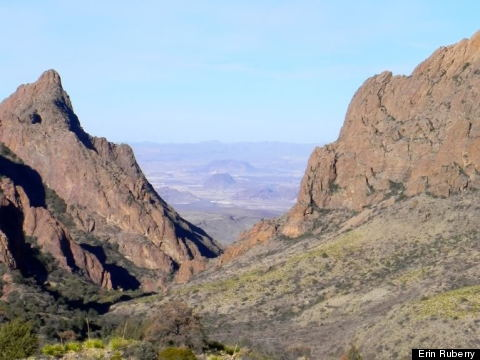 big bend national park view