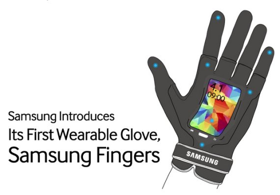 samsung fingers april fool
