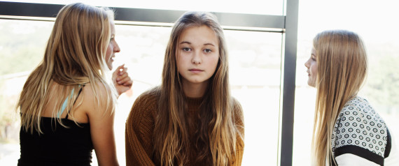 TEEN GIRL LEFT OUT OF GROUP