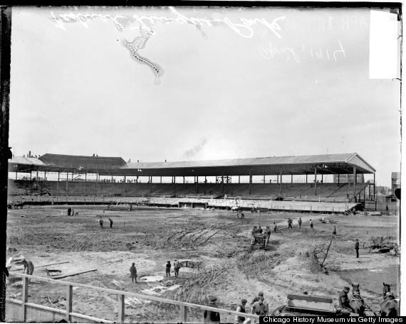 wrigley field 1914