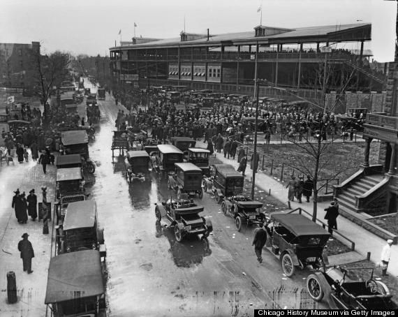 wrigley field 1920s