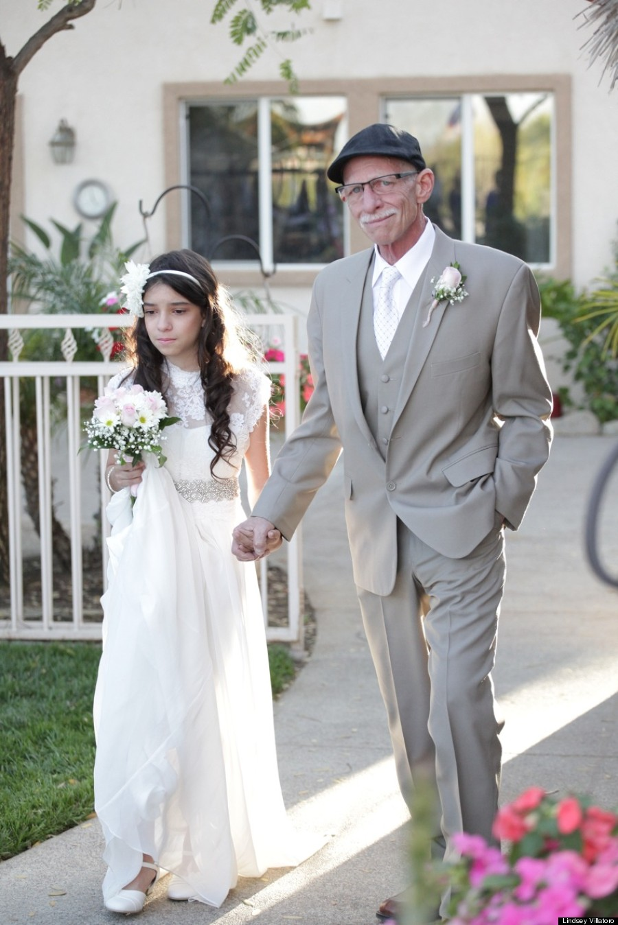 Cancer Stricken Dad Walks 11 Year Old Down The Aisle Because He