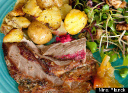 Family Seder Recipe: Leg of Lamb With Rosemary and Garlic from <i>The Real Food Cookbook</i>