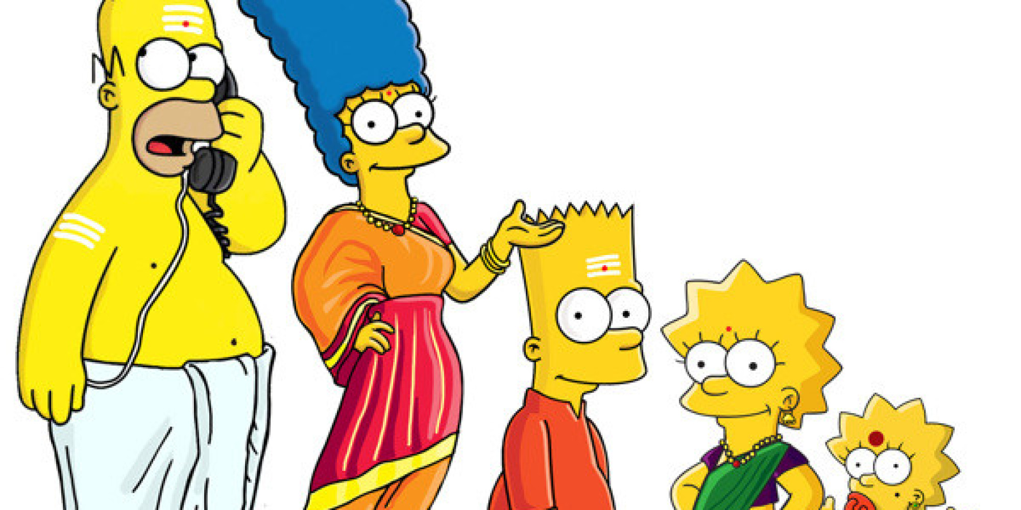 Here's How The Simpsons Would Look As Orthodox Hindus ...