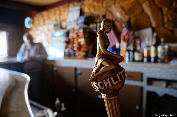 old beer tap