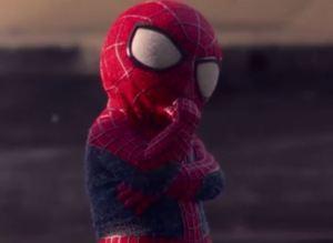 Evian Bebe Spider Man
