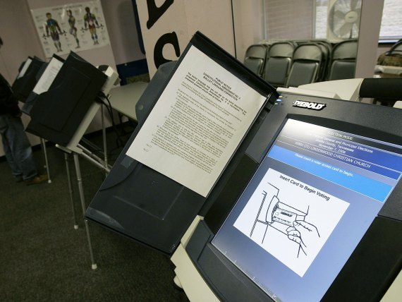Diebold Voting Machine