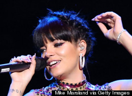 Lily Allen's Sheer Shirt Leaves Very Little To The Imagination