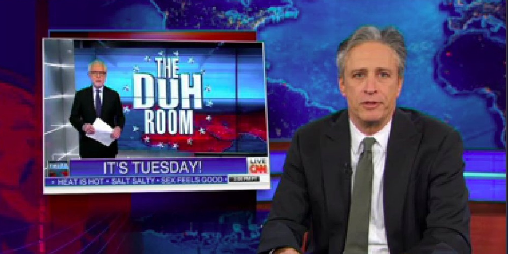 Watch Jon Stewart's Hilarious New Attack On CNN's MH370 ... - photo#36