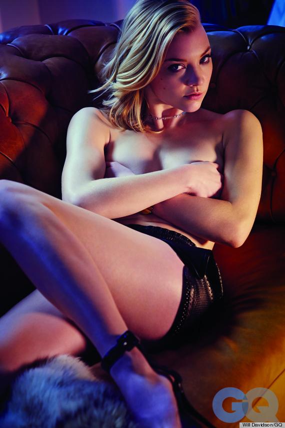 natalie dormer topless gq