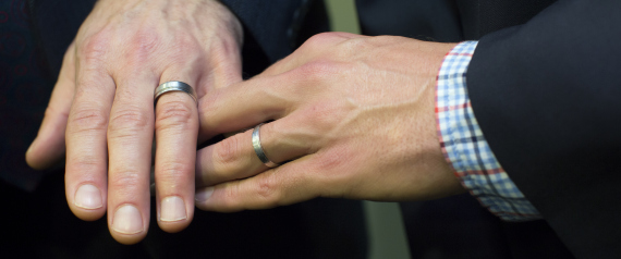 GAY MARRIAGE HANDS