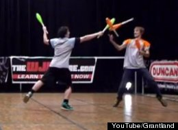 Do You Have The Balls For Combat Juggling?