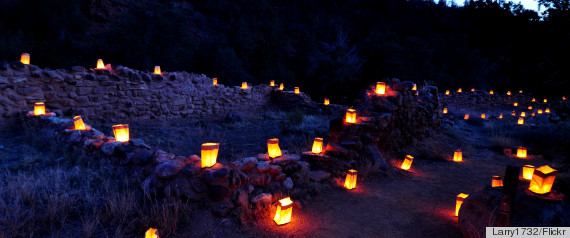 luminarias new mexico