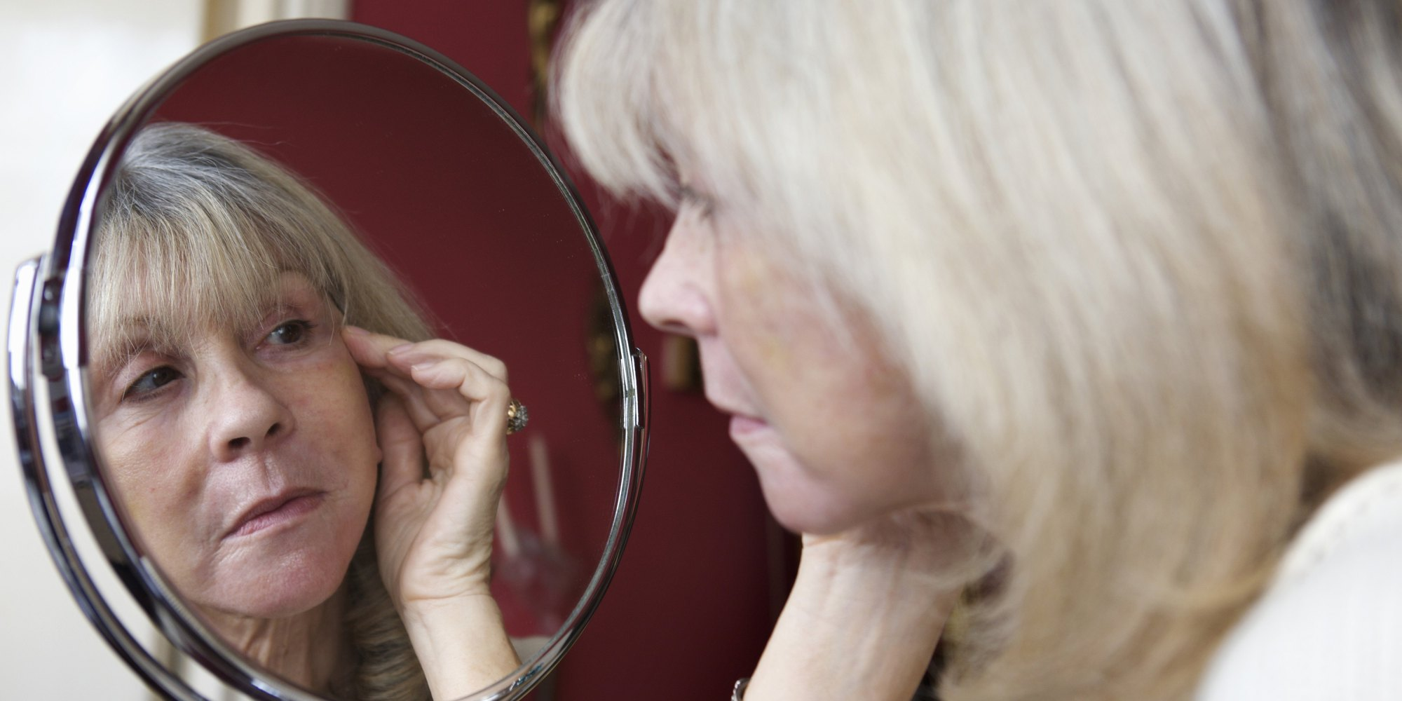 The ethereal age the blessings of getting old samantha for Looking mirror