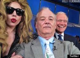 Now Even Bill Murray, Gaga And... Letterman!