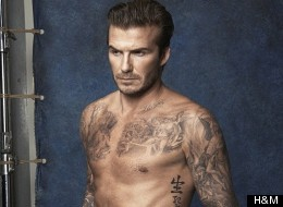 Stop What You're Doing And Look At Beckham With His Kit Off