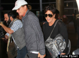 Kris And Bruce Jenner Hold Hands After Vacation In Thailand