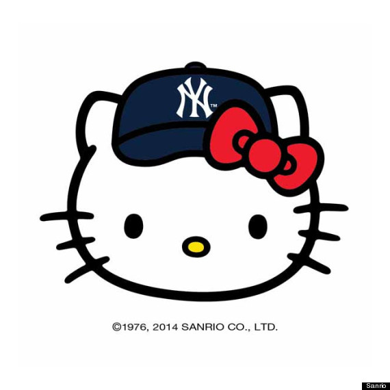 hello kitty mlb