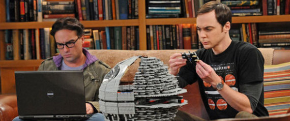 THE BIG BANG THEORY SET TO CELEBRATE STAR WARS DAY