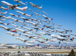 An Entire Day Of LAX Takeoffs In One Epic Photo