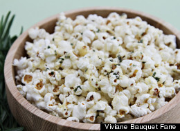 How To Make Popcorn With Rosemary Butter And Parmesan