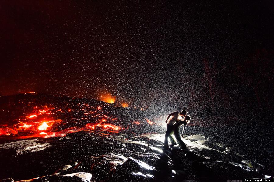 dallas nagata white lava kiss kilauea