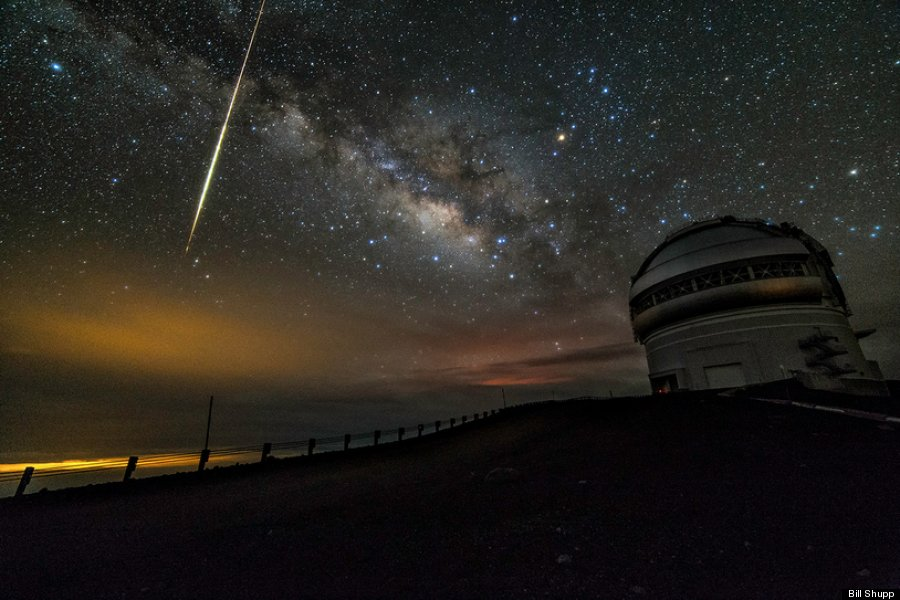 bill shupp kilauea comet observatory