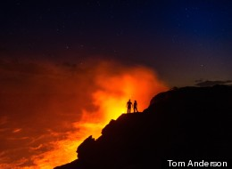Kilauea's Volatile Beauty Captured At Night (PHOTOS)