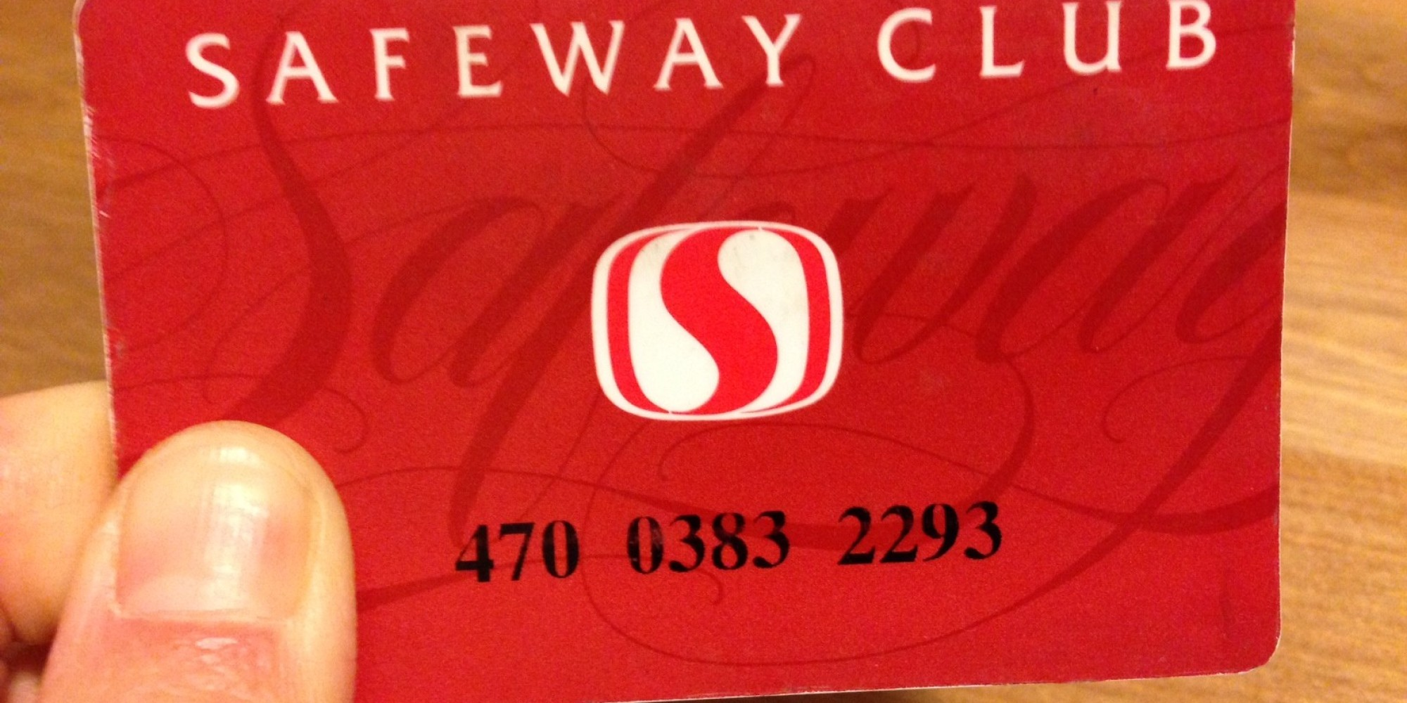 how to get a safeway club card
