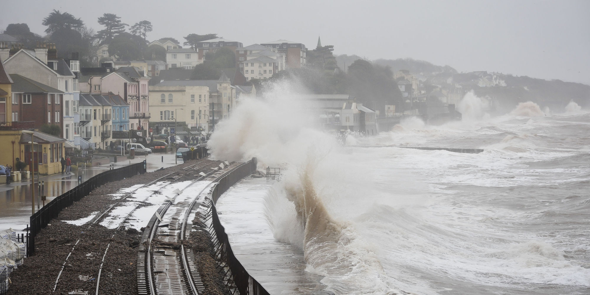 Dawlish United Kingdom  City pictures : Dawlish Railway Line Reopens After UK Storms