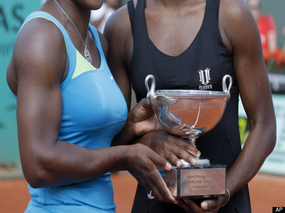 Venus Serena Williams French Open Doubles