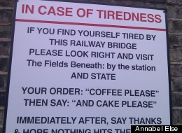London Coffee Shop Finds A Novel Way To Advertise Itself