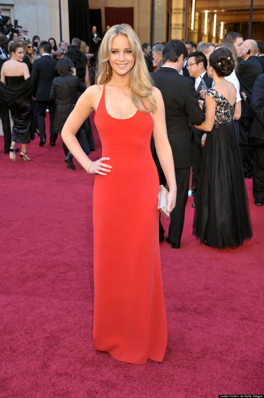 jennifer lawrence oscars 2011