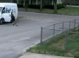 FedEx Driver Chases His Truck As Dogs Stand By Watching And Judging (VIDEO)