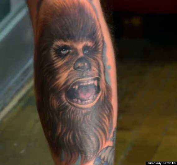 chewbacca tattoo