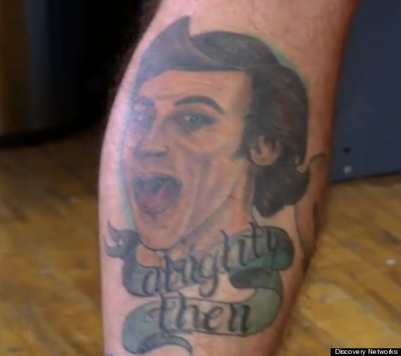 ace ventura tattoo
