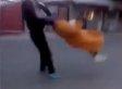 Man Grabs Elderly Woman, Swings Her Around (VIDEO)