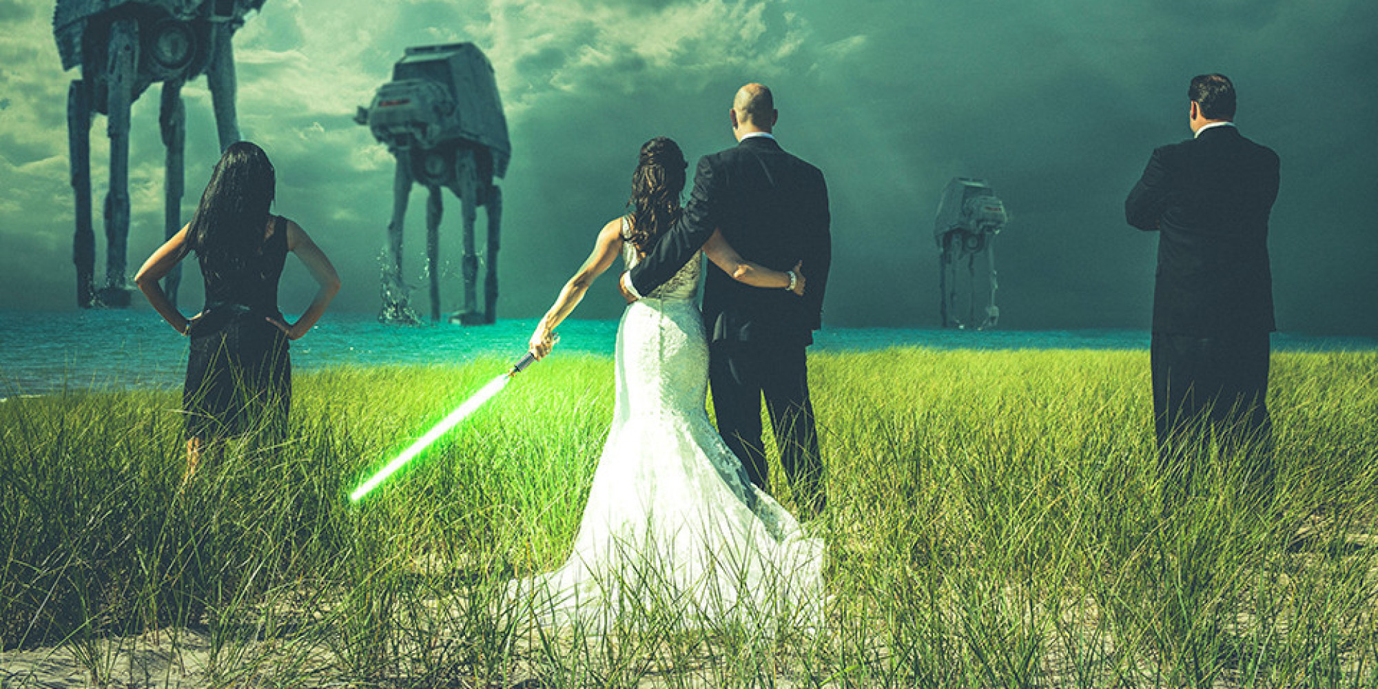 Everything You Need For A 'Star Wars' Wedding, Minus The ...