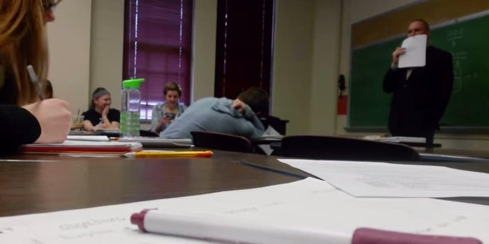 Students' Genius April Fools' Prank On Professor Might Make Him ...