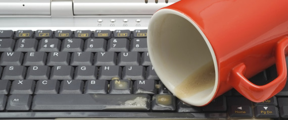 COMPUTER COFFEE ACCIDENT