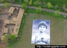 A Giant Portrait Of A Pakistani Child Is Putting A Face To U.S. Drone Strikes