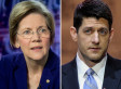 Elizabeth Warren Picks A Fight With Paul Ryan