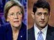 Elizabeth Warren Picks A Fight With Paul Ryan