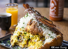 This Just Might Be The Best Bacon, Egg & Cheese Breakfast Sandwich Ever
