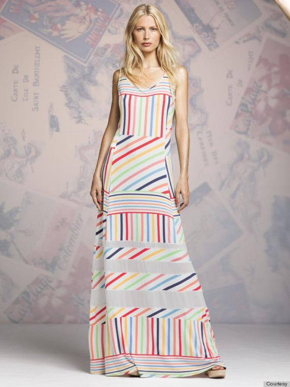 candy stripe dress peter som