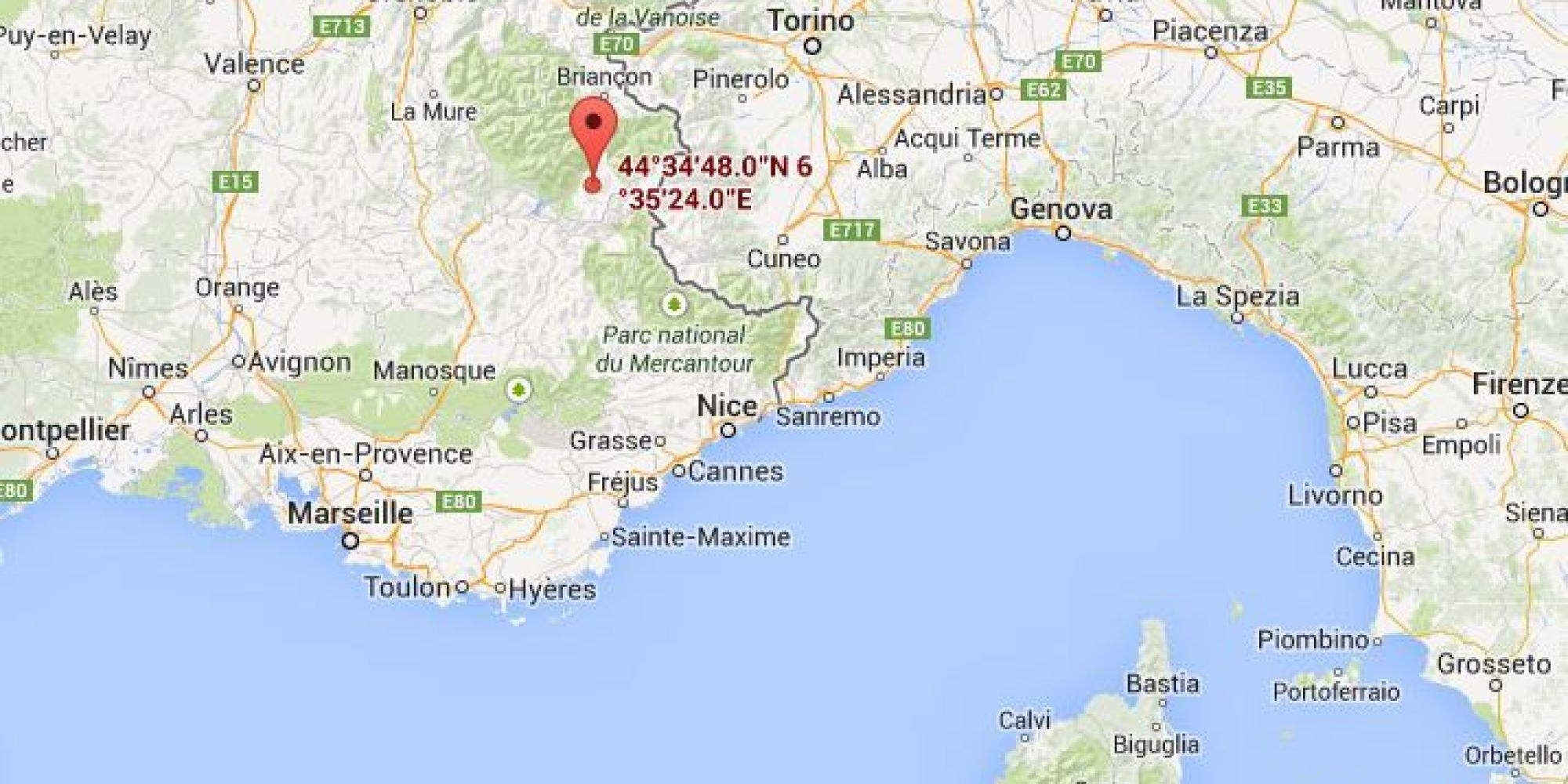 carte-sud-france-italie