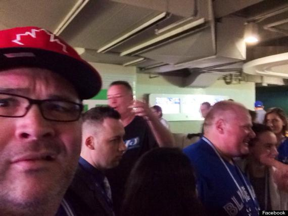 rob ford selfie
